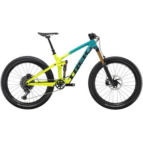 Trek Remedy 9.9 27.5 teal to volt fade